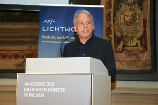 Begrüßung durch Prof. Urs Greutmann, Vizepräsident AdBK München