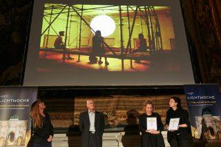1. Preis beim Studentenwettbewerb: Lichtinstallation DAWN