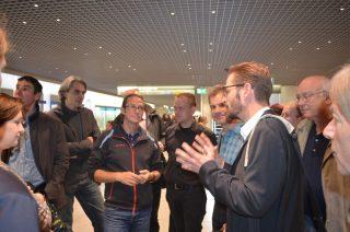 Besichtigung und Vortrag am Hauptbahnhof, u.a. mit Büro Bartenbach und ASW Architekten