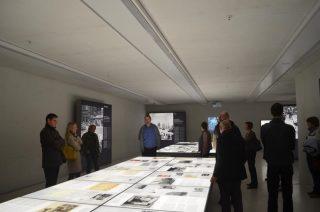 Besichtigung im NS-Dokumentationszentrum mit Lichtplaner Helmut Angerer