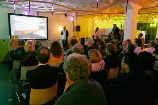 Eröffnung der 4. LICHTWOCHE München in der designerwerkschau
